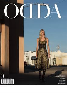 Odda Issue 11 Aline Weber Magazine Od-11 AW Order Online