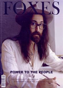 Foxes Sean Lennon Magazine Issue Iss 4 Sean