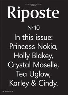 Riposte 10 Text Magazine Issue 10 Text