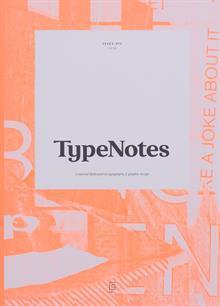 Typenotes Magazine Issue 3 Order Online
