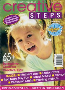 Creative Steps Magazine SPRING Order Online