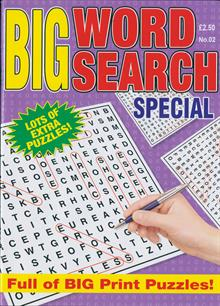 Big Wordsearch Spl Magazine NO 2 Order Online