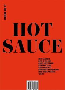 Hot Sauce Magazine Issue Issue 1