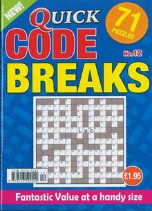 Quick Codebreaks Magazine NO 12 Order Online