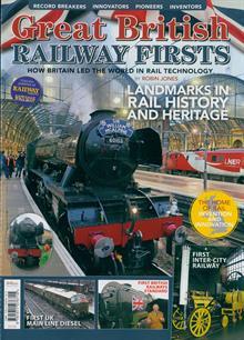 Great British Railway Firsts Magazine ONE SHOT Order Online