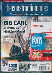 Construction Index (The) Magazine NOV 19 Order Online