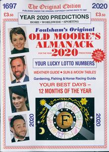 Old Moores Almanack Magazine 2020 (2) Order Online