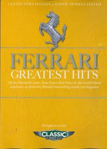 C&Sc Greatest Hits Magazine Issue FERRARI