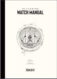 Blackbird Watch Manual Magazine Vol 3 Order Online