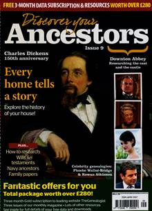 Discover Your Ancestors Magazine NO 9 Order Online