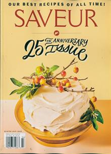 Saveur Magazine Issue WIN 19