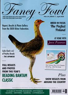 Fancy Fowl Magazine APR 20 Order Online