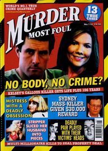 Murder Most Foul Magazine NO 116 Order Online