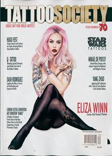 Tattoo Society Magazine Issue NO 70
