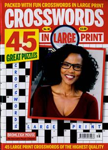 Crosswords In Large Print Magazine NO 38 Order Online