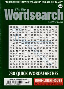 Big Wordsearch Collection Magazine Issue NO 46