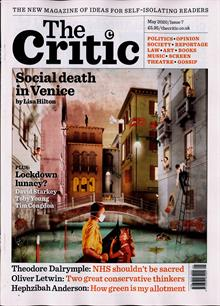 Critic (The) Magazine MAY 20 Order Online