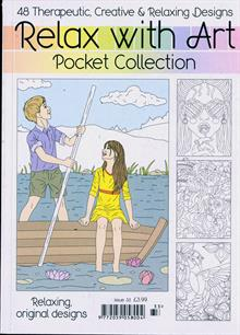 Relax With Art Pocket Coll Magazine NO 33 Order Online