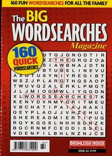 Big Wordsearch Magazine Magazine Issue NO 64