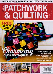 British Patchwork & Quilting Magazine MAY 20 Order Online