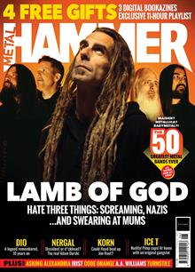 Metal Hammer Magazine Issue NO 335
