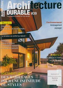 Architecture Durable Magazine 39 Order Online