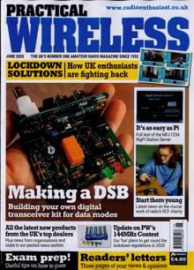 Practical Wireless Magazine JUN 20 Order Online