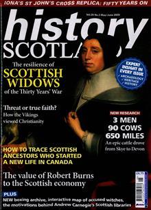 History Scotland Magazine Issue MAY-JUN