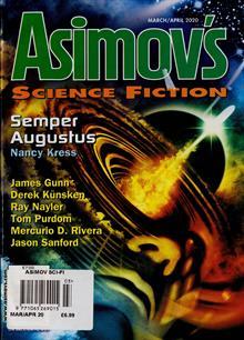 Asimov Sci Fi Magazine MAR-APR Order Online