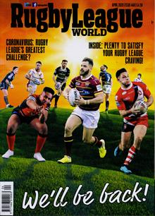 Rugby League World Magazine APR 20 Order Online