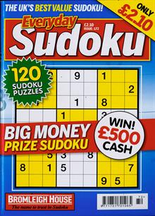 Everyday Sudoku Magazine NO 172 Order Online