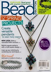 Bead & Button Magazine Issue APR 20