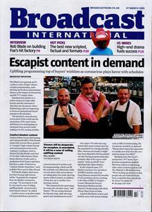 Broadcast Magazine 27/03/2020 Order Online