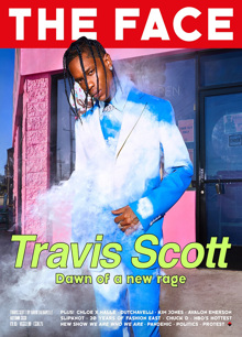 The Face  Magazine Travis Scott Order Online