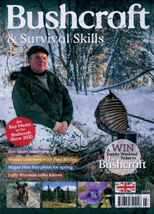 Bushcraft Survival Skills Magazine MAR-APR Order Online