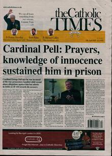 Catholic Times Magazine 24/04/2020 Order Online
