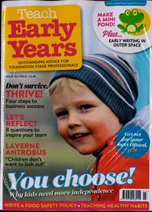Teach Early Years Magazine Issue VOL10/1