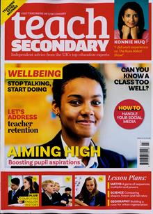 Teach Secondary Magazine Issue VOL9/3