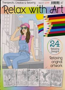 Relax With Art Magazine NO 67 Order Online