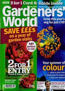 Bbc Gardeners World Magazine MAY 20 Order Online