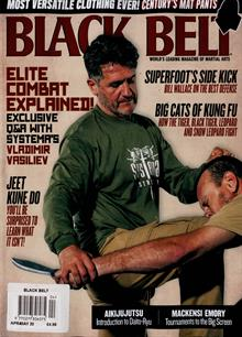 Black Belt Usa Magazine APR-MAY Order Online