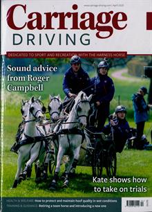 Carriage Driving Magazine APR 20 Order Online