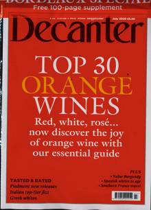 Decanter Magazine JUL 20 Order Online