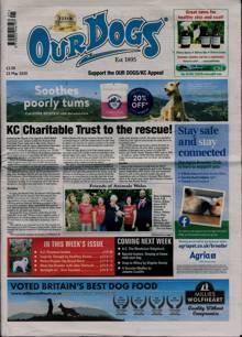 Our Dogs Magazine 22/05/2020 Order Online