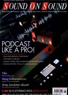 Sound On Sound Magazine Issue JUN 20
