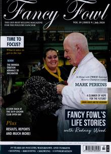 Fancy Fowl Magazine JUL 20 Order Online