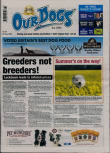 Our Dogs Magazine 29/05/2020 Order Online
