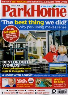 Park Home & Holiday Caravan Magazine JUL 20 Order Online