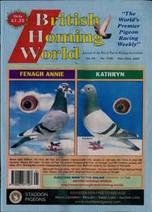 British Homing World Magazine NO 7526 Order Online