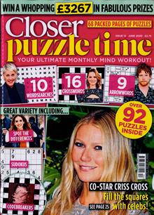 Closer Puzzle Time Magazine NO 12 Order Online